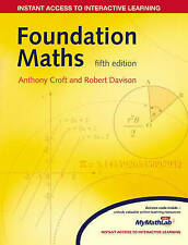 Foundation Maths MyMathLab Global Pack (with 12 months access to resources card)