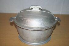 New listing 3 Quart Guardian Service Ware Aluminum Soup Pot Dutch Oven w/Metal Lid