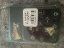 Warlord Games proyecto Z Zombie Dados Pack-Negro-Nuevo y Sellado