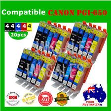 20X Ink Cartridge PGI 650 CLI 651 XL for Canon Pixma IP7260 MG6460 MG5460 MG5560