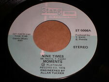 Moments: Nine Times / When The Morning Comes 45 - Soul
