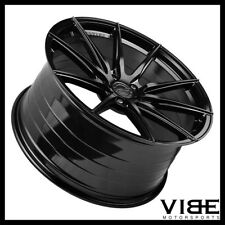 "19"" 20"" VERTINI RF1.1 GLOSS BLACK CONCAVE WHEELS RIMS FITS CHEVROLET CORVETTE C6"