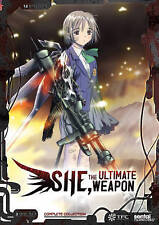 She, the Ultimate Weapon (DVD, 2015, 3-Disc Set)