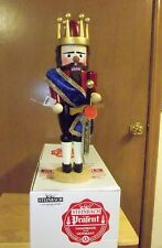 "Steinbach KING ARTHUR Nutcracker S1990 Germany New NWT Large 19"" + Box  NIB"