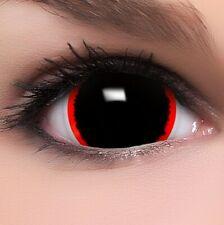 "Mini Sclera Lenses ""Exorcism"" schwarze Kontaktlinsen Farbige Halloween Linsen"