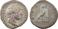 Hadrien, denier, Rome, 128, COS III, Pudeur - 14