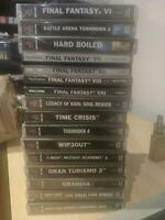 lot final fantasy 6 7 8 need for speed battle arena pal ps1 ps playstation 1