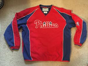 Philadelphia Phillies MLB Pullover Windbreaker Jacket - Size 2XL XXL **NWOT**