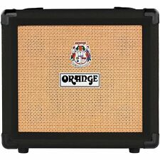 Orange*Crush12Blk*Amp 12w Small Black Guitar Combo Amplifier Free Shipping New