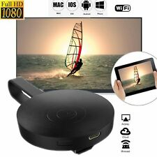 Für Google Chromecast 2 Digital Streaming Player HDMI HD1080 2,4 GHz Schwarz