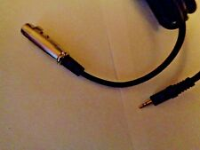 10Ft Audio Cable XLR 3P Femal to 1/8 3.5mm Stereo Male Microphone