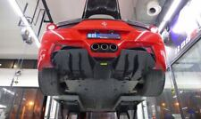 For Ferrari 458 Italia Carbon Fiber AP Style Rear Bumper Diffuser Lip 1pc part