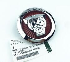 1Pcs 72mm Car Front Hood Grille Emblem Decal Badge Logo For Jaguar XJ XJL