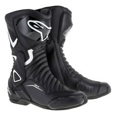 Alpinestars Stella SMX 6 V2  Black/White Ladies / Women Motorcycle Riding Shoes