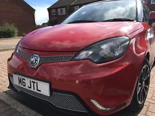 """MG3 FRONT FINE MESH GRILLE SET IN """"SILVER"""" ALL MODELS MK1 -2 MANUFACTURED BY US"""