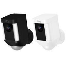 Ring Spotlight Cam Battery Powered HD Security Camera with Two-Way Talk & Siren