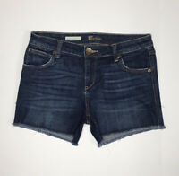 Kut From The Kloth Womens Size 4 Jean Shorts Denim Distressed
