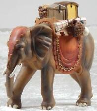 Elefant mit Gepäck, 15 cm