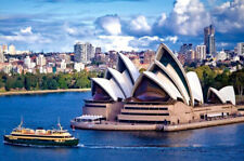 1000 Pieces Adult Puzzle Sydney Opera House Landscapes Jigsaw Educational Toys