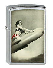 Zippo Lighter ● Rocket Girl Sexy ● 2003147 ● Neu New OVP ● B279