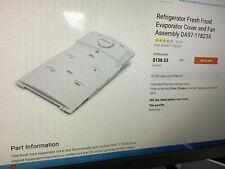 Brand New Oem Factory Da97-11823A Samsung Refrigerator Evaporator Cover Assembly