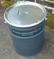 neu: WEISS: 1 x 10 kg-Eimer wetterfeste Außenfarbe / Dachfarbe (2. vorhanden)