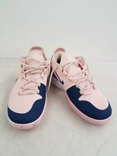 Nike Air Max Women's Navy Blue Peach Color Athletic Shoes Size 9