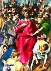 ACEO ATC Sketch Card - The Disrobing of Christ, 1579, El Greco