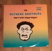 "The Outhere Brothers ‎– Don't Stop (Wiggle Wiggle) Vinyl 12"" Single 33rpm"