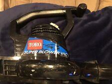 Toro Super Blower Vac 215 Mph leaf vac