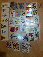 Aufkleber/Sticker Fussball-WM 1990 Italien +WM 1994 aus Hanuta/Duplo