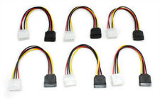 Aleratec 4-Pin Molex to SATA Power Adapter Cable, 6 inches 6-Pack