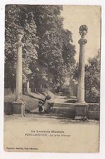 pont-à-mousson , le jardin d'amour