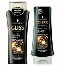 Schwarzkopf Gliss Ultimate Repair Shampoo / Conditioner with Keratin  Dry Hair