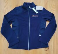 WHOLE FOODS MARKET, BLUE FLEECE JACKET100% RECYCLED POLYESTER, SIZE SMALL, NEW