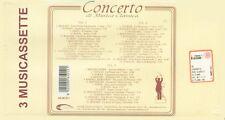 """COMPILATION """"CONCERTO DI MUSICA CLASSICA """" BOX 3 MUSICASSETTE SIGILLATO"""