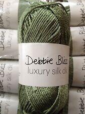 Debbie Bliss Luxury Silk DK shade 16 Basil