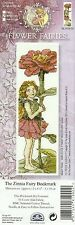DMC FLOWER FAIRIES ZINNIA FAIRY BOOKMARK COUNTED CROSS STITCH KIT - NEW 04/2014
