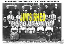 HUDDERSFIELD TOWN F.C. 1922 F.A. CUP WINNERS  FA