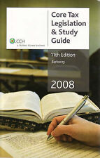 Core Tax Legislation and Study Guide 2008 by Stephen Barkoczy (Paperback, 2008)