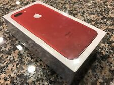 NEW Apple iPhone 7 Plus (PRODUCT)RED 128GB Factory Unlocked MPQV2LL/A Sealed