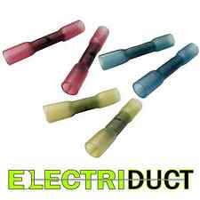 Heat Shrink Butt Connectors - 12-10Awg - 16-14Awg - 22-16Awg - Electriduct