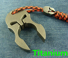 Sparta Titanium Self-defense EDC Tactical Survival Escape Tool + Ti lanyard bead