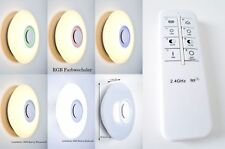 LED Deckenleuchte RGB Bluetooth Lautsprecher Peters-Living Fernbedienung Lampe