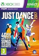 Just Dance 2017 Kinect Xbox 360 * NEW SEALED PAL *