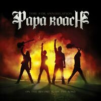 """PAPA ROACH """"TIME FOR ANNIHILATION - ON THE..."""" CD NEW"""