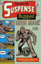 Valle of suspense #39 (Iron Man 1) ORO-stamp-VARIANT LIMITED German Reprint