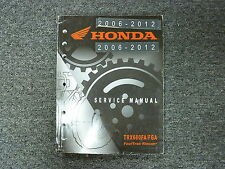 2006 2007 Honda TRX680FA TRX680FGA Four Trax Rincon ATV Service Repair Manual