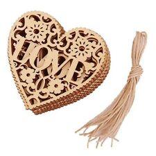 Ornament Wood Embellishment Wooden Craft Decor Embellishments Wedding Home