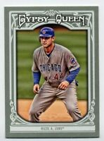 2013 Topps Gypsy Queen #11 ANTHONY RIZZO Chicago Cubs BASE BASEBALL CARD